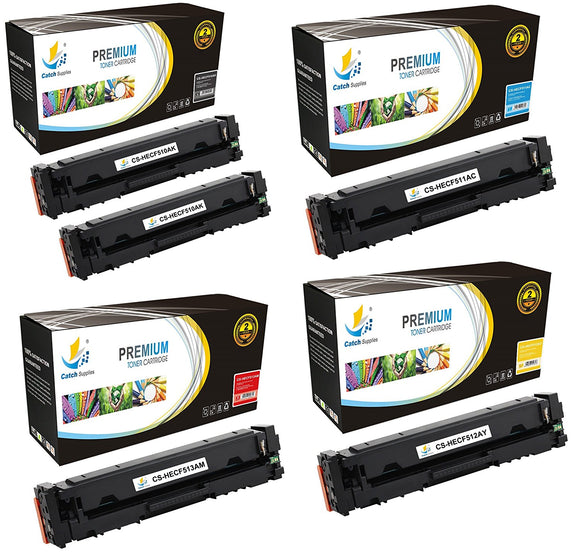 Catch Supplies Replacement HP HP-204A Standard Yield Toner Cartridge - 5 Pack
