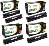 Catch Supplies Replacement HP HP-202X Standard Yield Toner Cartridge - 5 Pack