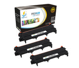 Catch Supplies Replacement Brother TN-450 Standard Yield Laser Printer Toner Cartridges - Three Pack