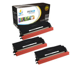 Catch Supplies Replacement Brother TN-580 Standard Yield Laser Printer Toner Cartridges - Three Pack