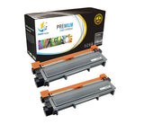 Catch Supplies Replacement Brother TN-660 Standard Yield Laser Printer Toner Cartridges - Two Pack