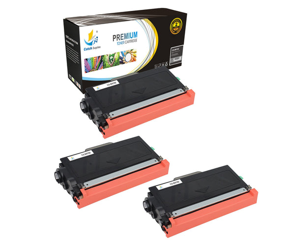 Catch Supplies Replacement Brother TN-780 Standard Yield Laser Printer Toner Cartridges - Three Pack