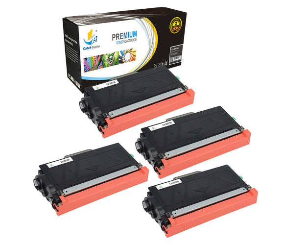 Catch Supplies Replacement Brother TN-780 Standard Yield Laser Printer Toner Cartridges - Four Pack