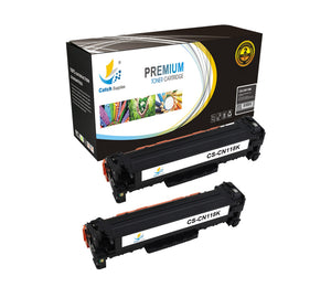 Catch Supplies Replacement 118K Black Toner Cartridge 2 Pack Set
