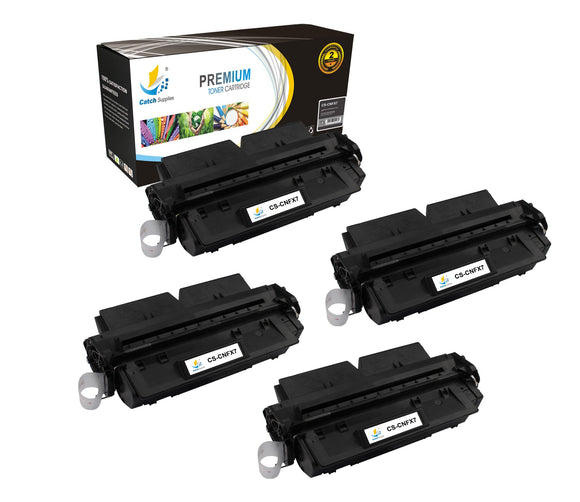 Catch Supplies Replacement Canon 7621A001AA Standard Yield Laser Printer Toner Cartridges - Four Pack