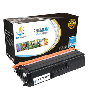 Catch Supplies Replacement Brother TN-431C Standard Yield Toner Cartridge