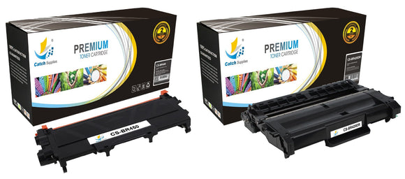 Catch Supplies Replacement Combo pack of 1 TN450 Toner Cartridge and 1 DR420 Drum Unit