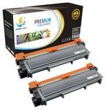Catch Supplies Replacement Brother TN-630 Standard Yield Laser Printer Toner Cartridges - Two Pack