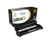 Catch Supplies Replacement Brother DR-630 Compatible Drum Unit Laser Printer Toner Cartridges - Two Pack