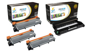 Catch Supplies Replacement Combo pack of 3 TN630 Toner Cartridges and 1 DR630 Drum Unit