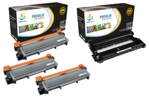 Catch Supplies Replacement Combo pack of 3 TN660 Toner Cartridges and 1 DR630 Drum Unit