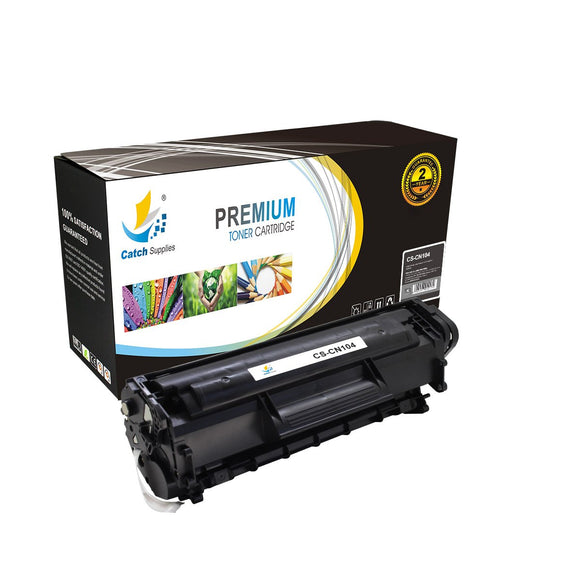 Catch Supplies Replacement 104 Black Toner Cartridge