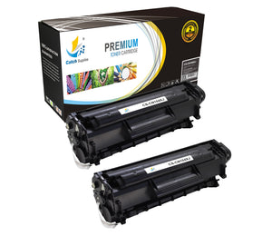 Catch Supplies Replacement Canon 0263B001AA Jumbo Yield Black Toner Cartridge Laser Printer Toner Cartridges - Two Pack
