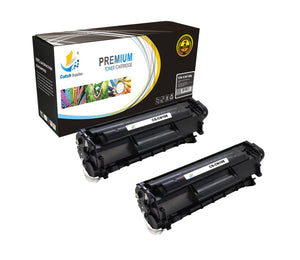 Catch Supplies Replacement Canon 0264B001AA Standard Yield Laser Printer Toner Cartridges - Two Pack