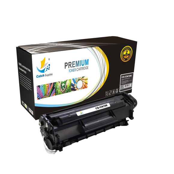 Catch Supplies Replacement 106 Black Toner Cartridge