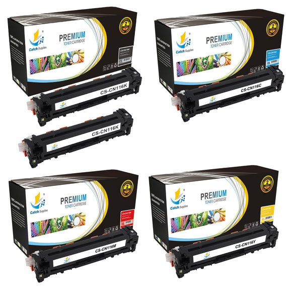 Catch Supplies Replacement 116 Toner Cartridge 5 Pack Set