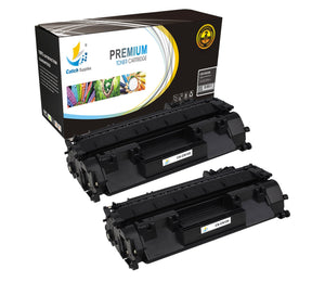 Catch Supplies Replacement Canon 2617B001AA Standard Yield Laser Printer Toner Cartridges - Two Pack
