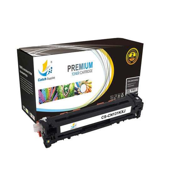 Catch Supplies High Yield Replacement 131K Black Toner Cartridge