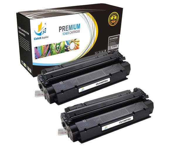 Catch Supplies Replacement Canon 8489A001AA Standard Yield Laser Printer Toner Cartridges - Two Pack