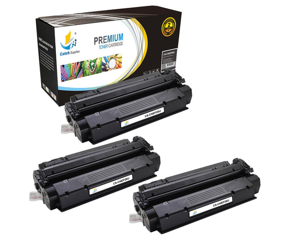 Catch Supplies Replacement Canon 8489A001AA Standard Yield Laser Printer Toner Cartridges - Three Pack