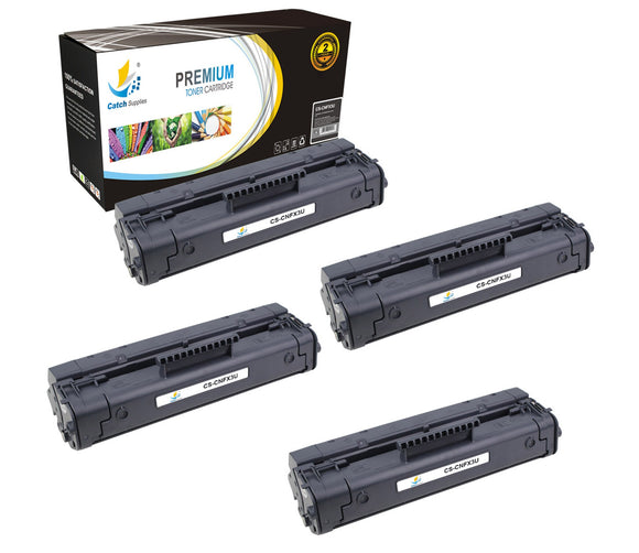 Catch Supplies Replacement Canon 1557A002BA Standard Yield Laser Printer Toner Cartridges - Four Pack