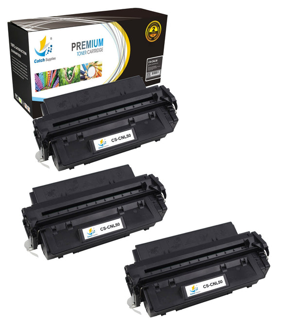 Catch Supplies Replacement Canon 6812A001AA Standard Yield Laser Printer Toner Cartridges - Three Pack