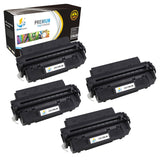 Catch Supplies Replacement Canon 6812A001AA Standard Yield Laser Printer Toner Cartridges - Four Pack