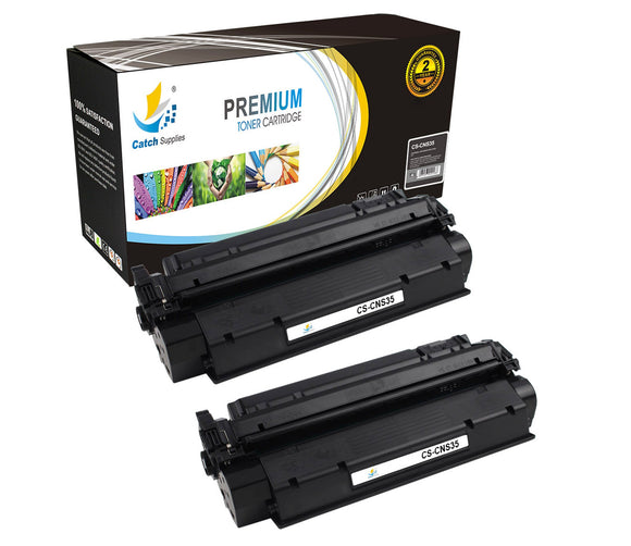 Catch Supplies Replacement Canon 7833A001AA Standard Yield Laser Printer Toner Cartridges - Two Pack