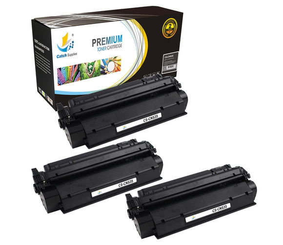 Catch Supplies Replacement Canon 7833A001AA Standard Yield Laser Printer Toner Cartridges - Three Pack