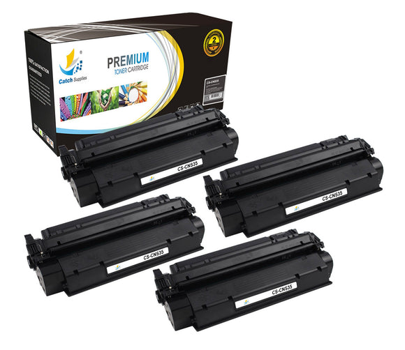 Catch Supplies Replacement Canon 7833A001AA Standard Yield Laser Printer Toner Cartridges - Four Pack