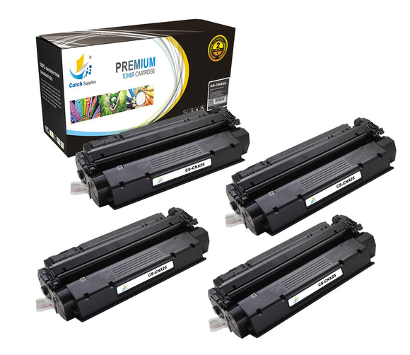 Catch Supplies Replacement Canon 8489A001AA Standard Yield Laser Printer Toner Cartridges - Four Pack