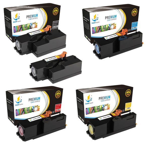 Catch Supplies Replacement 1250 Toner Cartridge 5 Pack Set