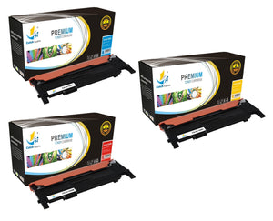 Catch Supplies Replacement 1320 Toner Cartridge 3 Pack Color Set