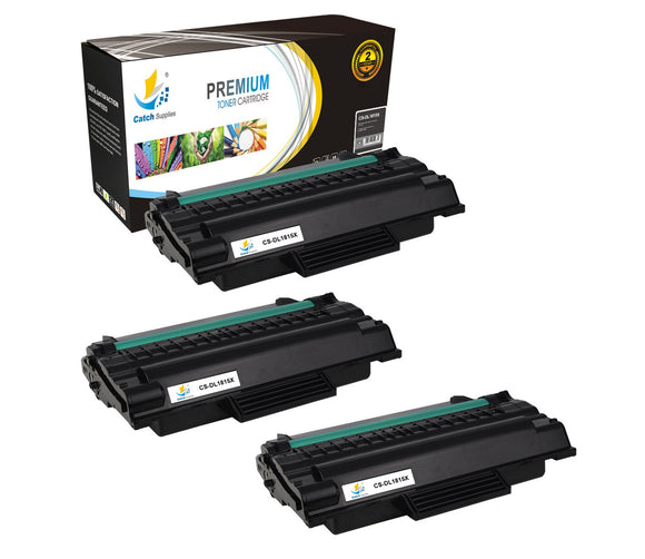 Catch Supplies Replacement Dell 310-7945 Standard Yield Laser Printer Toner Cartridges - Three Pack