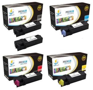 Catch Supplies Replacement Dell 331-0719,331-0716,331-0717,331-0718 Standard Yield Laser Printer Toner Cartridges - Five Pack