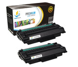 Catch Supplies Replacement Dell 330-2209 Standard Yield Laser Printer Toner Cartridges - Two Pack