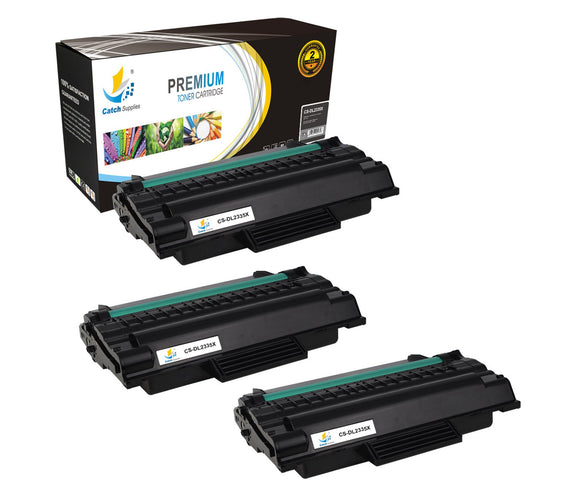 Catch Supplies Replacement Dell 330-2209 Standard Yield Laser Printer Toner Cartridges - Three Pack