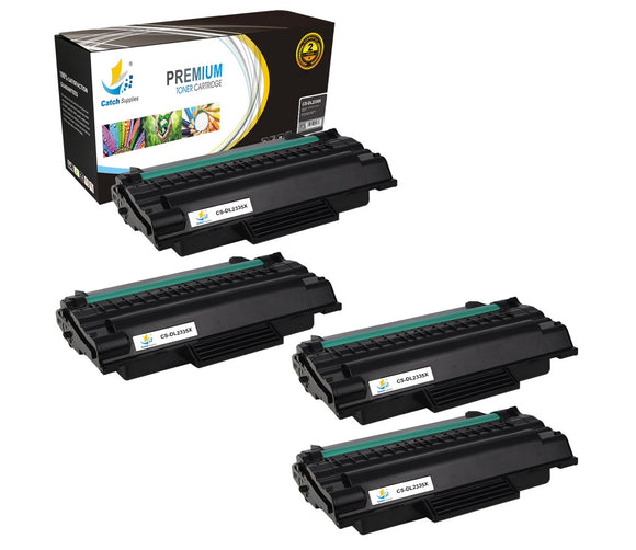 Catch Supplies Replacement Dell 330-2209 Standard Yield Laser Printer Toner Cartridges - Four Pack