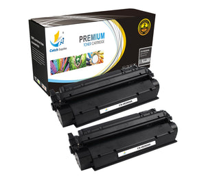 Catch Supplies Replacement Q2624A Black Toner Cartridge 2 Pack
