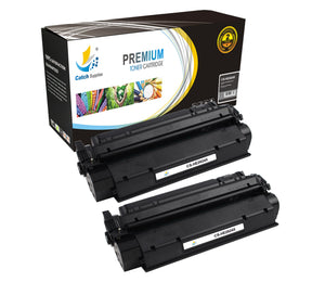 Catch Supplies Replacement Q2612A Black Toner Cartridge 2 Pack