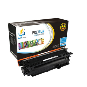 Catch Supplies Replacement CE251A – 504A Cyan Toner Cartridge