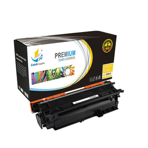 Catch Supplies Replacement CE252A – 504A Yellow Toner Cartridge