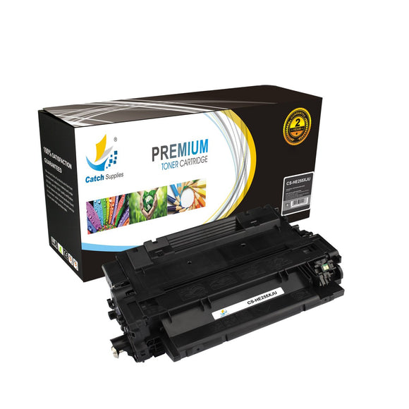 Catch Supplies Replacement HP CE255X High Yield Toner Cartridge