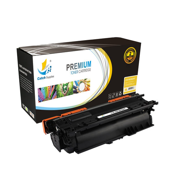 Catch Supplies Replacement HP CE262A Standard Yield Toner Cartridge