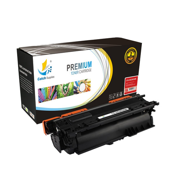 Catch Supplies Replacement HP CE263A Standard Yield Toner Cartridge