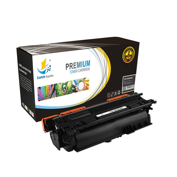 Catch Supplies High Yield Replacement CE264X – 646X Black Toner Cartridge