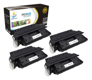 Catch Supplies Replacement C4127X Black Toner Cartridge 4 Pack