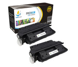 Catch Supplies Replacement HP C4127X Jumbo Yield Black Toner Cartridge Laser Printer Toner Cartridges - Two Pack