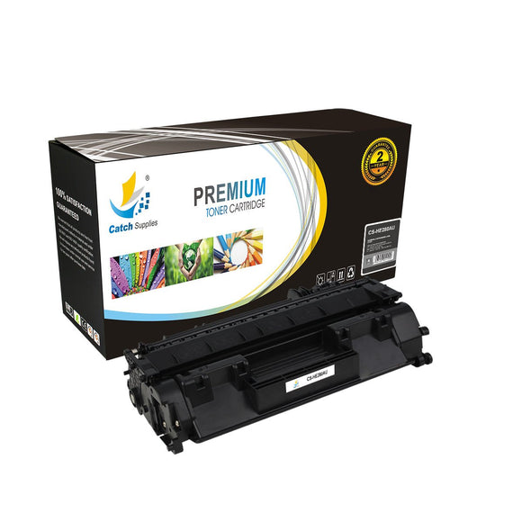 Catch Supplies Replacement CF280A Black Toner Cartridge
