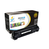 Catch Supplies Replacement HP CF283X High Yield Black Toner Cartridge Laser Printer Toner Cartridges - Four Pack